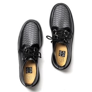 TUK Unisex Perforated Low Loafer Men's 7 Women's 9